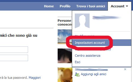 come cancellarsi da facebook 01