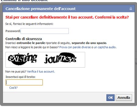 come cancellarsi da facebook 14