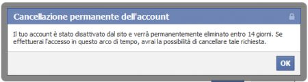come cancellarsi da facebook 15
