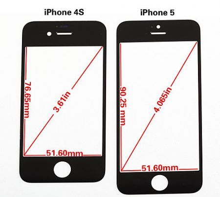 iPhone 5: anteprima del vetro del display da 4″ [VIDEO e FOTO]