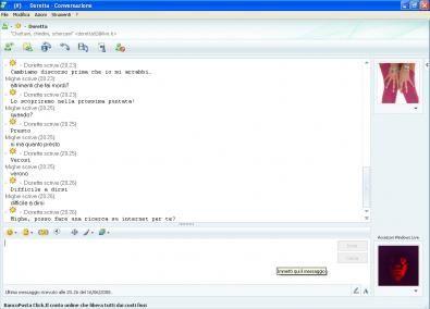 Contatto Messenger: Doretta