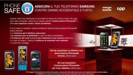 Samsung Phone Safe: la copertura assicurativa per i cellulari