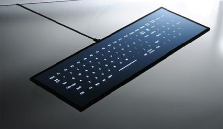 Cool Leaf Keyboard, una tastiera per PC in versione touch