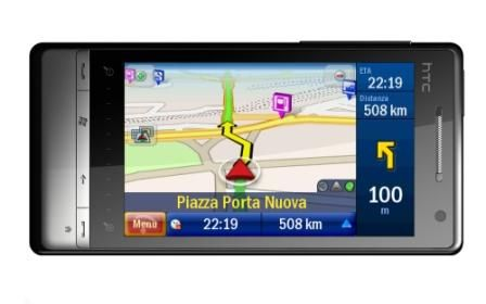HTC Touch Diamond2: arriva il gps CoPilot Live 7