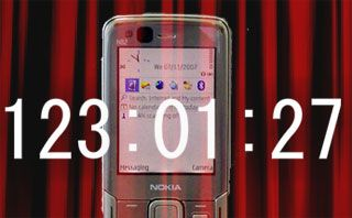Nokia N82, Conto alla rovescia