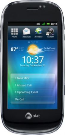 Dell Aero: smartphone full touchscreen Android