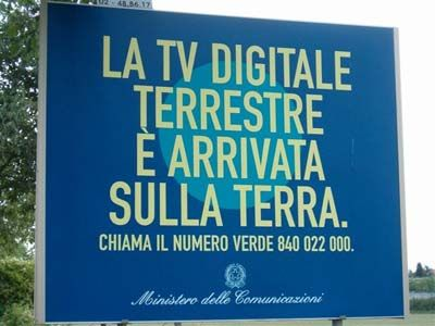 Digitale Terrestre: in Italia un buco nellacqua?