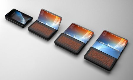 Cellulare con display pieghevole