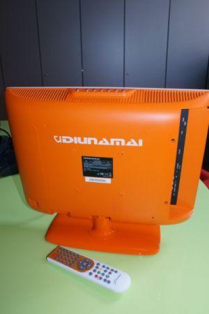 DIUNAMAI WD6500: TV LCD da 19 pollici HD con Digitale Terrestre