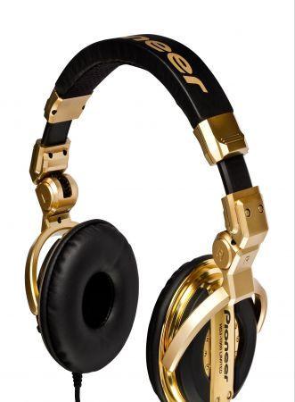 Pioneer DJ HDJ-1000: cuffie professionali nella versione Limited Edition Gold