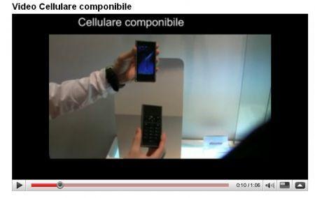 DoComo: il nostro video del cellulare componibile al MWC 2009