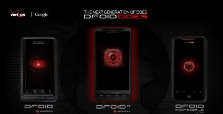 Motorola Droid X: Android 2.1, display 4.3 pollici e 8 MPX video teaser