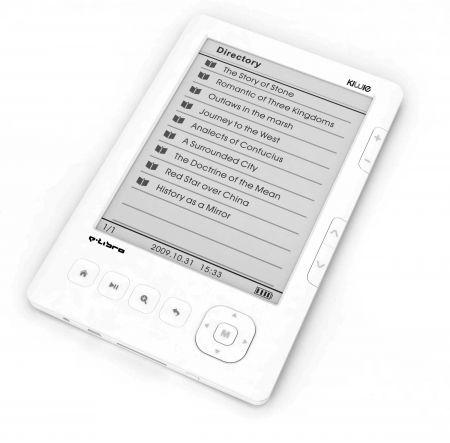 Kiwie E-Libro: e-book reader compatto e versatile