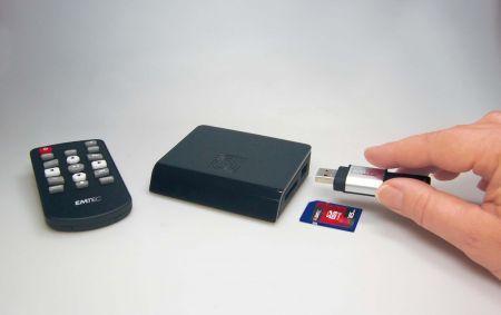 Emtec Movie Cube N120: player multimediale portatile come idea regalo