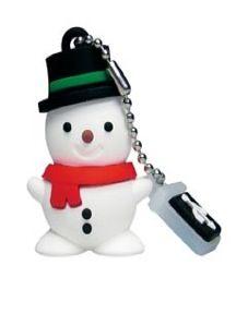 Emtec M105 Snowman: chiavetta USB a forma di pupazzo di neve come idea regalo