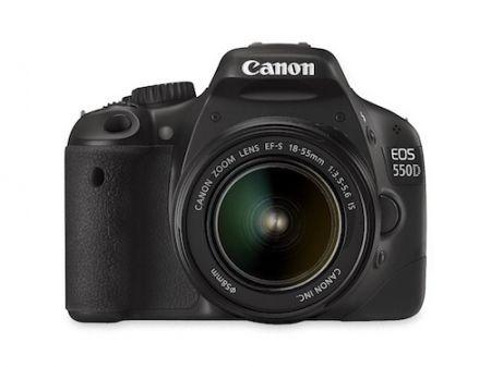 Canon EOS 550D: reflex digitale entry level al femminile come regalo di Natale