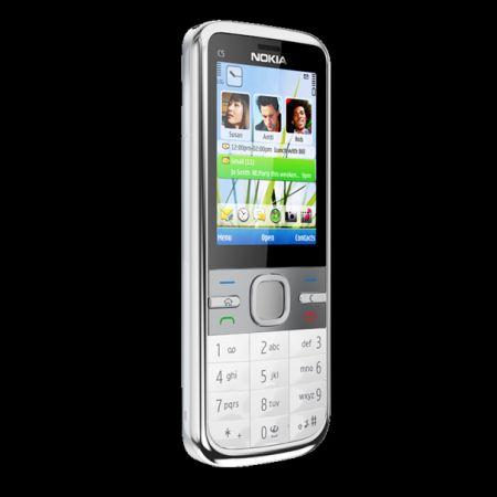 Nokia Serie C al CeBit 2010: Nokia C5, economia in acciaio