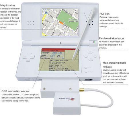 Fab Chain Ranger: GPS per la console Nintendo DS/DS Light