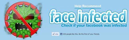 Face Infected: ripulire il vostro account Facebook da virus e malware