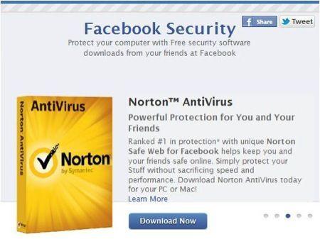 Facebook apre il suo store di antivirus online gratis
