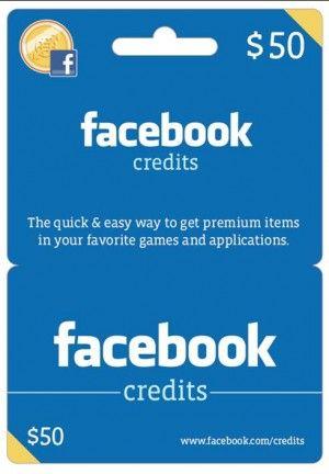 Facebook Credits: dal 1 Luglio 2011 arriva la moneta ufficiale del social network