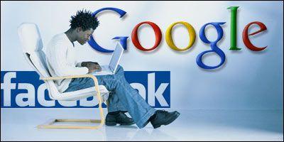 Google e Facebook per Skype