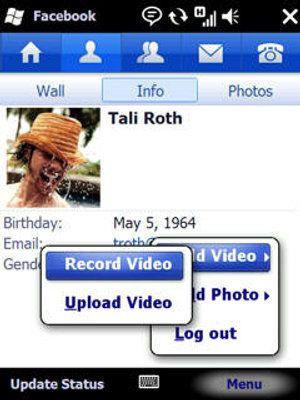 Facebook: il programma per il sistema operativo Microsoft Windows Mobile