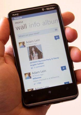 Facebook per Windows Phone 7: rilasciata la versione 1.5