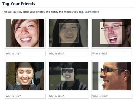 Facebook introduce il riconoscimento facciale
