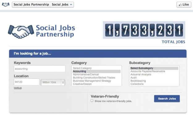 Facebook Social Jobs App, un social network professionale per sfidare LinkedIn