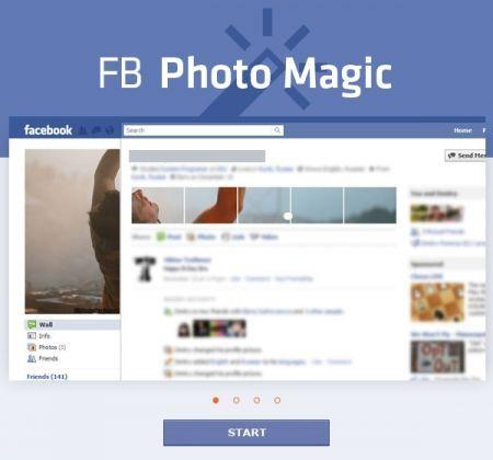 FB Photo Magic: creare immagini per il nuovo profilo di Facebook