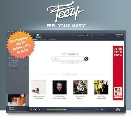 Feezy, il nuovo servizio di musica in streaming creato in Italia