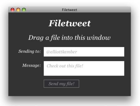 Filetweet: condividere via Twitter un qualsiasi tipo di file