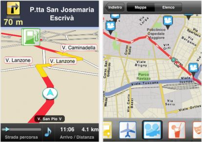 Da Vodafone per iPhone Find&#038;Go: navigatore GPS gratuito