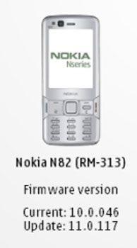 Nokia N82 Firmware v11.0.117