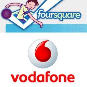 Vodafone: Christmas Card gratis se ti iscrivi a Foursquare
