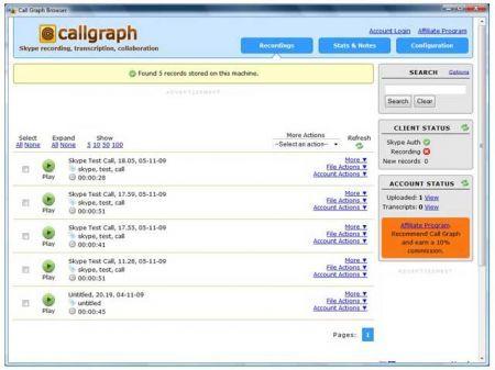 Free Skype Recorder: registrare le chiamate ricevute ed effettuate con Skype