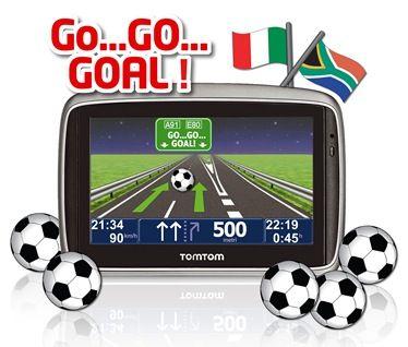 TomTom rimborsa il GPS con buoni benzina se l'Italia vincerà i Mondiali di Calcio