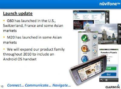Garmin-Asus: in arrivo il primo smartphone Android