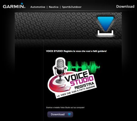 Garmin Voice Studio