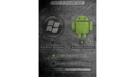Con Gen.Y app dualboot Windows Mobile ed Android assieme