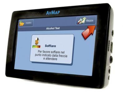Geosat 6 Drive Safe: GPS con etilometro
