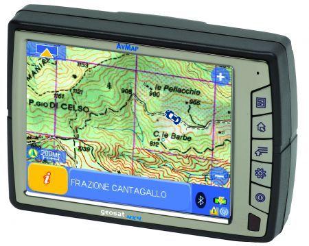 AvMap Geosat 4×4: navigatore GPS per viaggi avventurosi come idea natale