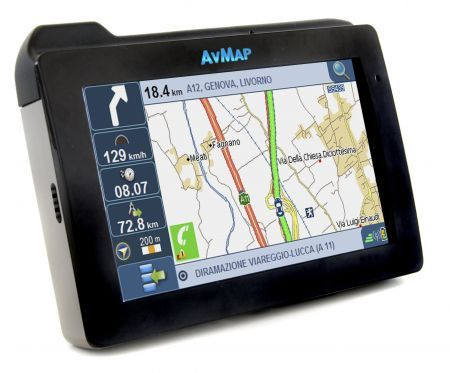 AvMap Geosat 6 XTV: navigatore GPS con etilometro e TV come idea natale