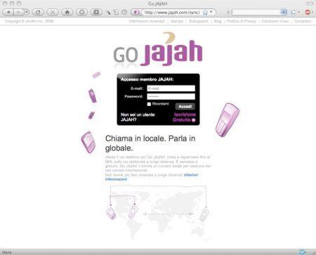 GoJAJAH: chiamate internazionali meno care verso fissi e cellulari tramite il VoIP
