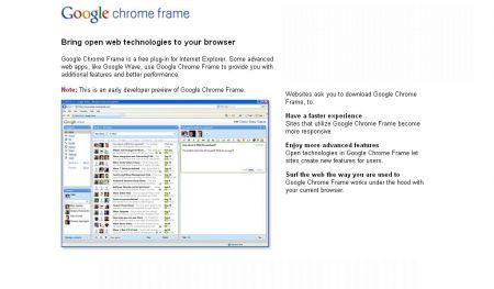 Microsoft: Google Chrome Frame renderebbe insicuro Internet Explorer
