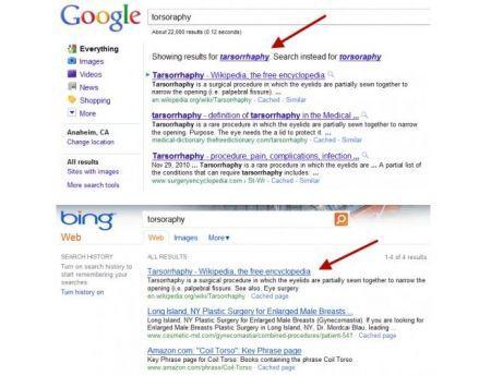 Bing imbroglia, copia le ricerche da Google