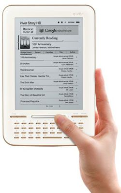 Il lettore eBook Story HD secondo Google