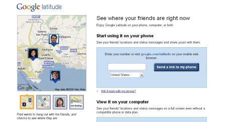 Google Latitude disponibile anche per iPhone 3GS ed iPod Touch