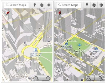 Google Maps 5.0 disponibile per smartphone Android